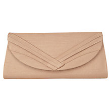 Buy Jacques Vert Clutch Bag, Natural Online at johnlewis.com