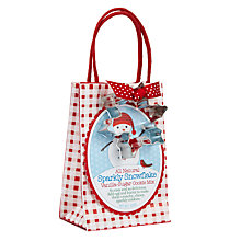 Buy Pelican Bay Sparkling Snowflakes Cookie Mix and Cutter, 396g Online at johnlewis.com