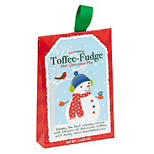 Buy Pelican Bay Toffee Fudge Hot Chocolate Mix, 70g Online at johnlewis.com