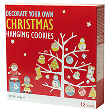 Buy Decorate Your Own Cookie Ornament Kit Online at johnlewis.com