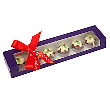 Buy Cocoa Bean Company Christmas Pudding Chocolates, 60g Online at johnlewis.com