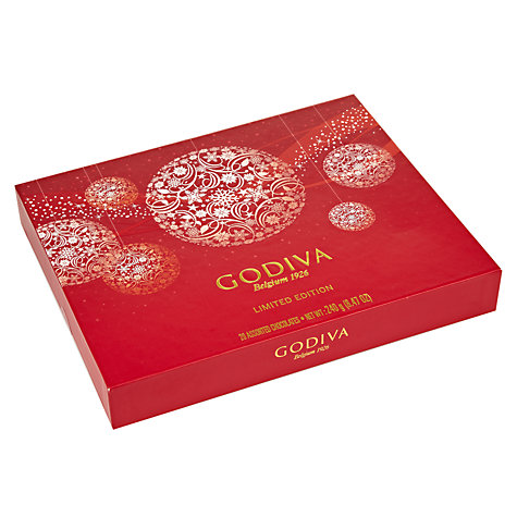 Buy Godiva Christmas Chocolate Selection, 240g Online at johnlewis.com
