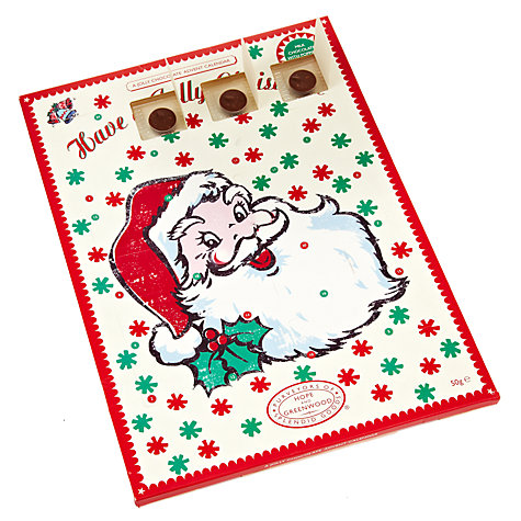 Buy Hope & Greenwood Jolly Advent Calendar with Chocolate Buttons, 50g Online at johnlewis.com