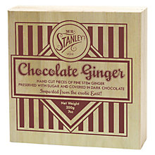 Buy Mr Stanley's Chocolate Covered Stem Ginger, 200g Online at johnlewis.com