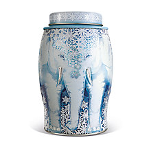 Buy Williamson Teas Earl Grey Snowflake Christmas Caddy, 40 bags Online at johnlewis.com