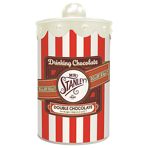 Buy Mr Stanley's Hot Chocolate Tin,120g Online at johnlewis.com