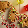 Buy Gingerbread Christmas Tree Decorations, 35g, Assorted Online at johnlewis.com