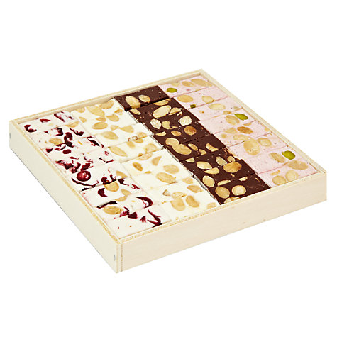 Buy Natalie Chocolates Assorted Nougat in Wooden Box, 250g Online at johnlewis.com