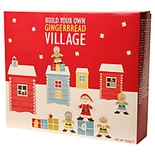 Buy Build Your Own Gingerbread Village Kit Online at johnlewis.com