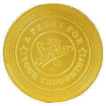 Buy Mr Stanley's Giant Milk Chocolate Penny, 100g Online at johnlewis.com