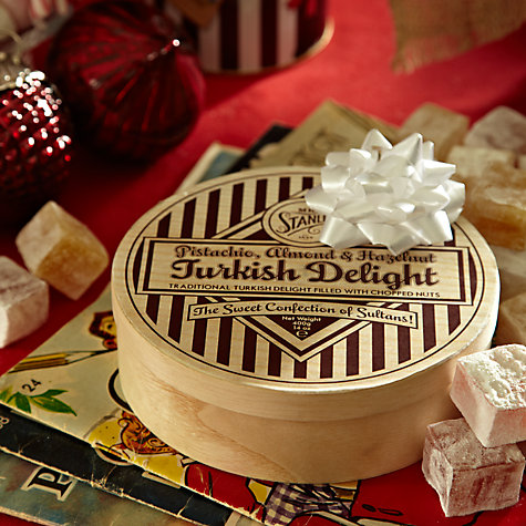 Buy Mr Stanley's Pistachio/Hazelnut Turkish Delight, 400g Online at johnlewis.com