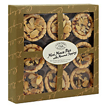 Buy Cottage Delight Almond Top Mince Pies, Set of 9 Online at johnlewis.com