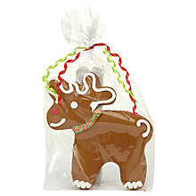 Buy Medium Gingerbread Reindeer, 90g Online at johnlewis.com