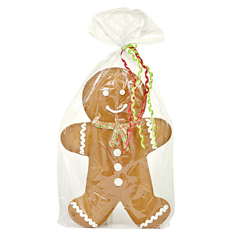 Buy Large Gingerbread Man, 225g Online at johnlewis.com