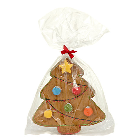 Buy Image on Food Gingerbread Tree Biscuit, 160g Online at johnlewis.com