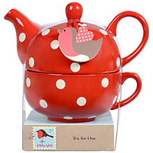 Buy Bobby Robin Tea for One Teapot Set Online at johnlewis.com