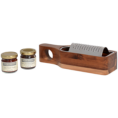 Buy Paxton & Whitfield Cheese Grater and Chutney Set Online at johnlewis.com
