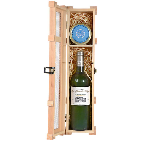 Buy White Wine and Salmon Paté Gift Set Online at johnlewis.com