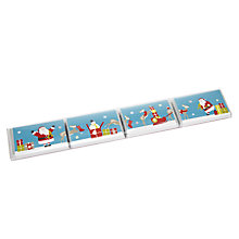 Buy House of Dorchester Christmas Chocolate Bars, Pack of 4 Online at johnlewis.com