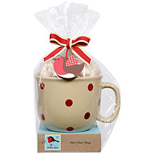 Buy Bobby Robin Spotty Hot Chocolate Mug Online at johnlewis.com