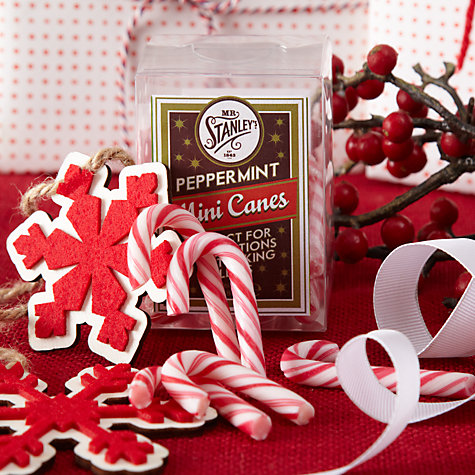 Buy Mr Stanley's Mini Peppermint Candy Canes, 80g Online at johnlewis.com