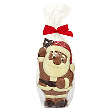 Buy Natalie Chocolates Milk Chocolate Santa, 250g Online at johnlewis.com