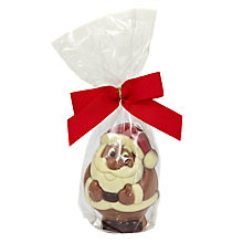Buy Natalie Chocolates Milk Chocolate Santa, 50g Online at johnlewis.com