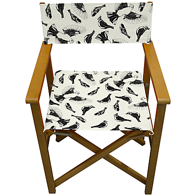 John Lewis Birds Outline Director's Chair