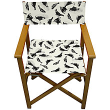 Buy John Lewis Birds Outline Director's Chair Online at johnlewis.com