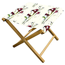 Buy John Lewis Painterly Floral Stool Online at johnlewis.com