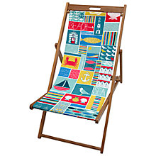 Buy John Lewis Coastal Patchwork Deck Chair Online at johnlewis.com