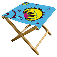 Buy John Lewis Rangoli Stool, Turquoise Online at johnlewis.com