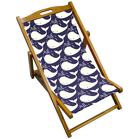 Buy John Lewis Whales Children's Deck Chair Online at johnlewis.com