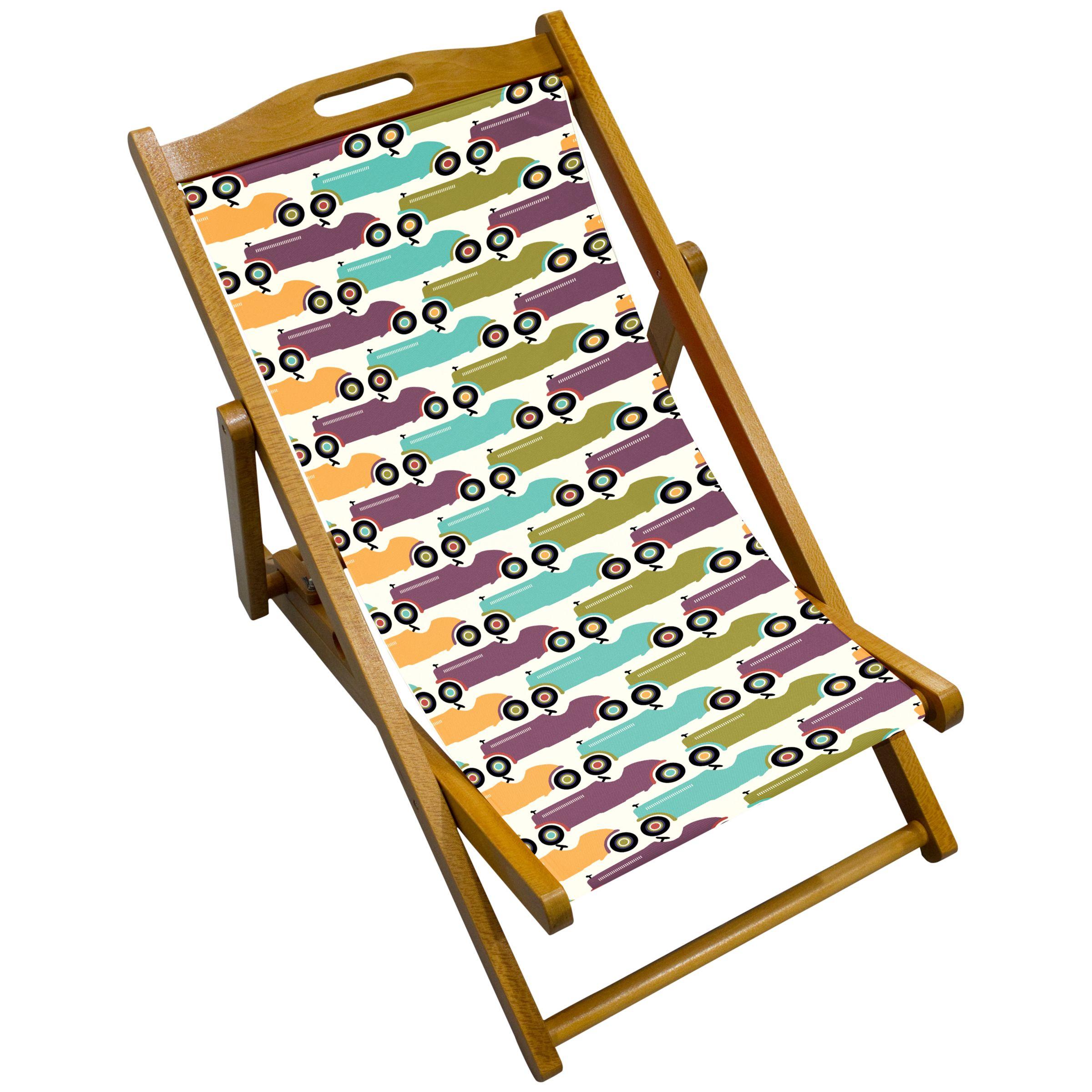 John Lewis Cars Children's Deck Chair
