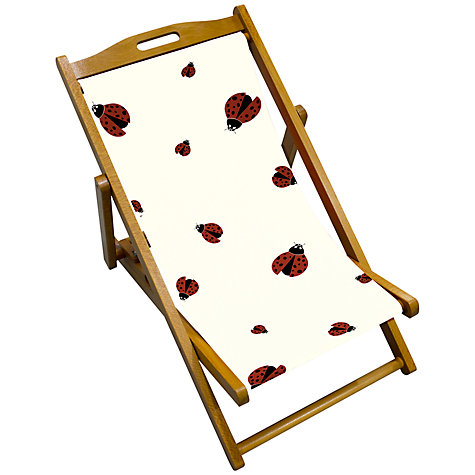 Buy John Lewis Ladybird Children's Deck Chair Online at johnlewis.com