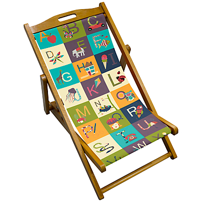 John Lewis Alphabet Children's Deck Chair