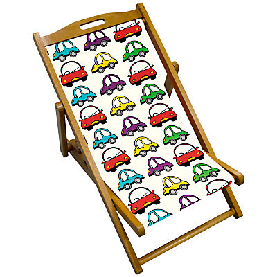 John Lewis Bubble Cars Children's Deck Chair