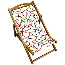 Buy John Lewis Pencils Children's Deck Chair Online at johnlewis.com