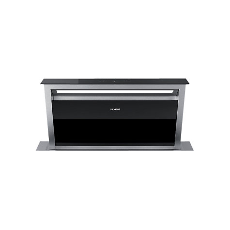Buy Siemens LD97AA670B Downdraft Cooker Hood, Stainless Steel/Black Online at johnlewis.com