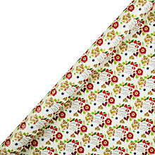 Buy Belly Button Merry Christmas Wrapping Paper, L3m Online at johnlewis.com