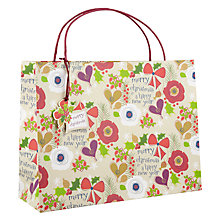 Buy Belly Button Wreath Shopper Gift Bag Online at johnlewis.com