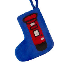 Buy Felt So Good Post Box Stocking Tree Decoration Online at johnlewis.com