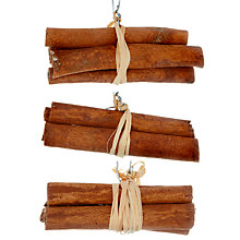 Buy John Lewis Cinnamon Sticks Tree Decoration Online at johnlewis.com