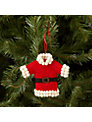 Felt So Good Santa Coat Tree Decoration