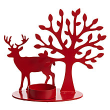Buy House by John Lewis Reindeer Tealight Holder Online at johnlewis.com