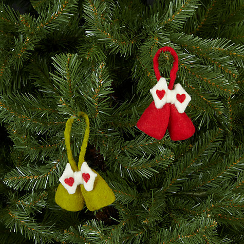 Buy Felt So Good Mini Bell Tree Decoration, Assorted Online at johnlewis.com