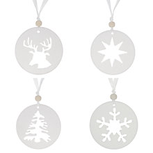 Buy John Lewis Scented Tree Decoration, Assorted Online at johnlewis.com