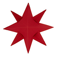 Buy Livingly Ingrid 8 Pointed Star Tree Decoration Online at johnlewis.com