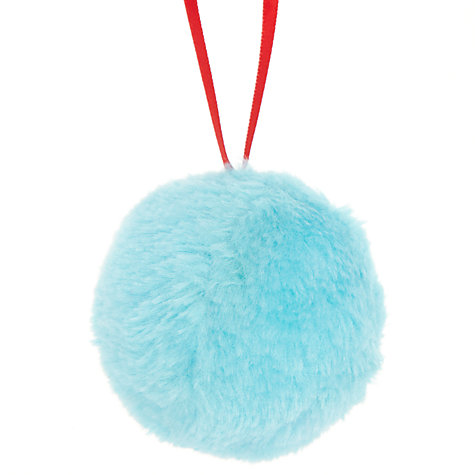 Buy John Lewis Fur Bauble Online at johnlewis.com