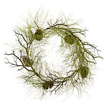 Buy John Lewis Pine Wreath, 55cm Online at johnlewis.com